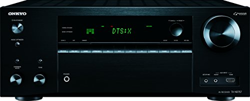 Onkyo TX-NR757 A/V Receiver - 7.2 Channel - Black - Multizon