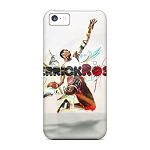 Iphone 5c Bus5676zzoE Support Personal Customs Fashion Derrick Rose Image Scratch Protection Cell-phone Hard Cover -TimeaJoyce