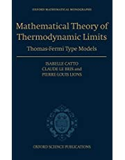 Mathematical Theory of Thermodynamic Limits: Thomas-Fermi Type Models