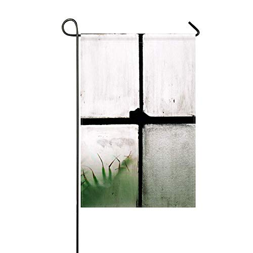 DongGan Garden Flag Window Lattice Glass 12x18 Inches(Without - Glass Lattice