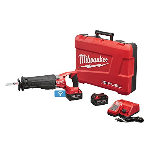Milwaukee 2721-22 M18 FUEL One-Key SAWZALL Kit with XC Batteries and Charger ()