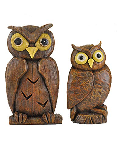 Edge Mobile Womens Collection (Owl Creative Small Decoration Room Room Bedroom Furniture Decoration Boutique Gift Women's Clothing Store (Color : Brown))