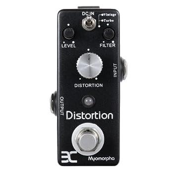 Ex de la vendimia de la Myomorpha de distorsión de guitarra Pedal de efecto Turbo de efecto de distorsión: Amazon.es: Instrumentos musicales