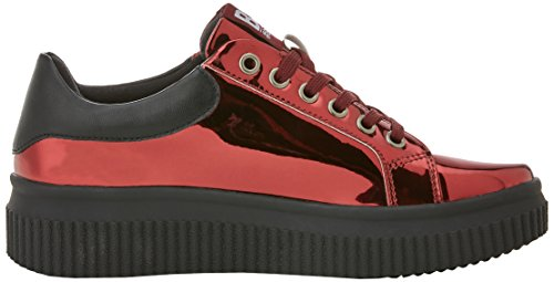 041377 Women's Red Burdeos Burdeos Trainers bass3d C5qgwRw