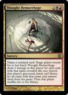 Magic: the Gathering - Thought Hemorrhage - Alara ()
