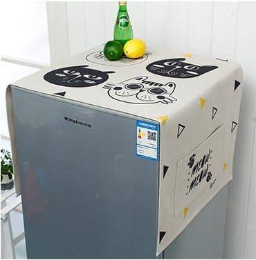 manimo hogar vida Hall, Cool Cat Algodón Lino frigorífico el polvo ...
