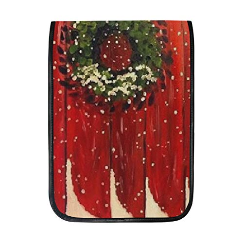 Christmas Decoration Wall Sleeve Case Compatible with iPad Pro 10.5/9.7 iPad Air/Samsung Galaxy Tab Case Sleeve Carrying Protector Bag ()