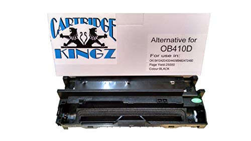 - Cartridge Kingz B410 Compatible Oki Drum 43979001 for OKI B Series B410 B410dn B420dn B430d B430dn MB460 MB470 MB480