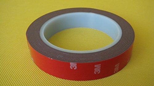 3M ® 3m//10mm Auto Acrílico Espuma Accesorio Cinta adhesiva de doble cara Mejor Calidad