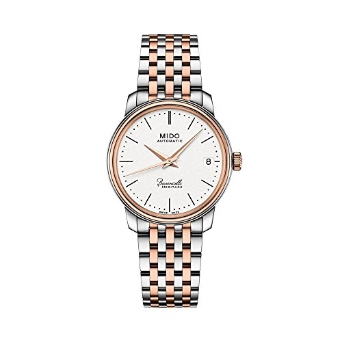 Mido Baroncelli III Automatic Silver Dial Ladies Watch M0272072201000