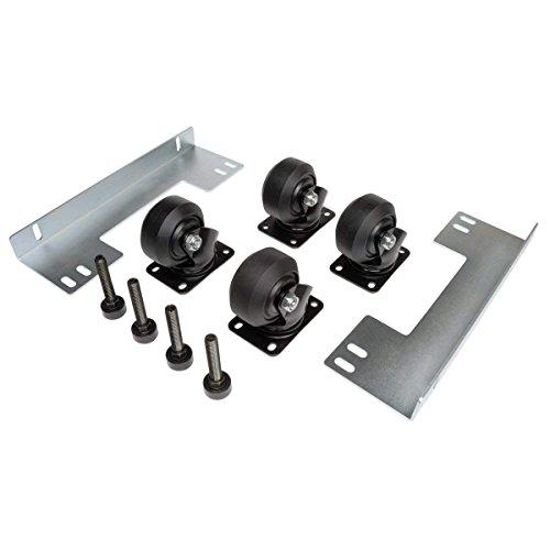 (Tripp Lite Rack Enclosure Cabinet Heavy Duty Mobile Rolling Caster Kit SRCASTERHDKIT)