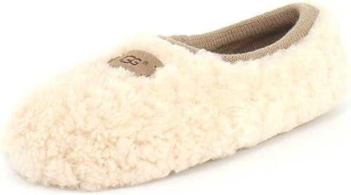 Girls Cute /& Cosy Snuggly Fleece Lamb Ballerina Slippers In 4 UK Sizes