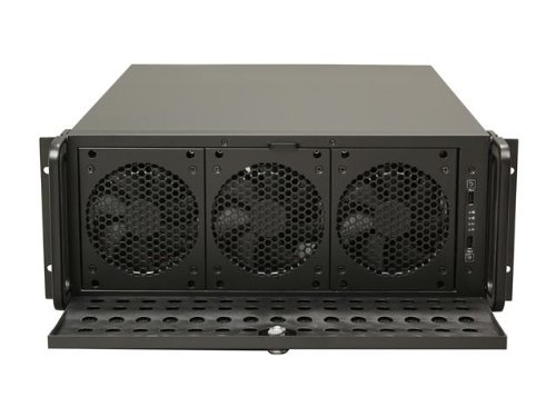 Rosewill 4U Server Chassis / Server Case / Rackmount Case, Metal Rack Mount Computer Case support with 15 bays & 7 Fans Pre-Installed (RSV-L4500)