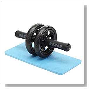 Readaeer Ab Roller Wheel Abdominal Exercise Workout Equipment with Knee Pad