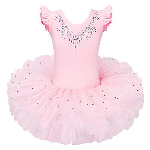 Ballerina Costumes Pattern - BAOHULU Ballet Leotards for Girls Full