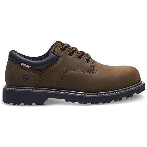 - Wolverine Men's Floorhand Oxford Steel Toe Construction Shoe, Brown, 13 M US