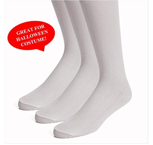Boot Socks - Halloween Knee Socks Women and Men - Costume Socks - 3 Pack and 6 Pack - by Topfit