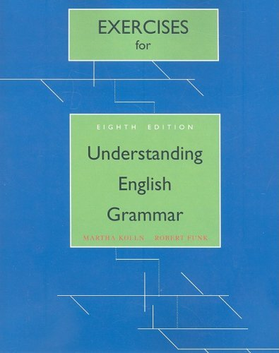 Read Online Exercises for Understanding English Grammar 8TH EDITION PDF