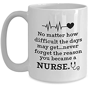Never Forget The Reason You Became A Nurse Funny Birthday Christmas Present For Nurses Or Doctors Graduation Gifts From Nursing School