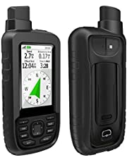 TUSITA Case for Garmin GPSMAP 66s 66st - Silicone Protective Cover - Handheld GPS Accessories (Black)
