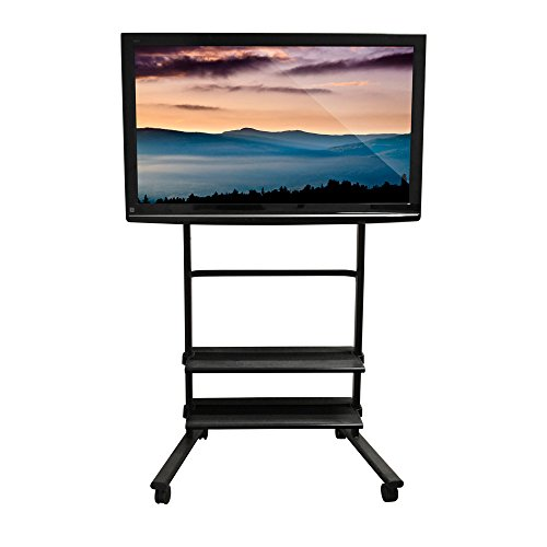 Luxor WFP200-B - Universal LCD TV Stand with Two (Luxor Universal Lcd)