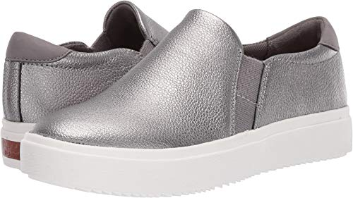Dr. Scholl's Women's Leta - Original Collection Pewter Metallic Leather 8 M US