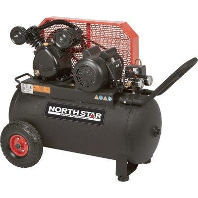 Northstar Portable Air Compressor - 2 HP, 20-Gallon
