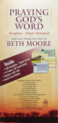 Praying God's Word Scripture-Prayer Resource: Taken from Praying God's Word