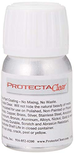 Jewelers Skin Guard - ProtectaClear 1 Oz. Clear, Protective Coating for Metal.