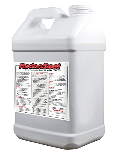 RadonSeal Plus DeepPenetrating Concrete Sealer 25gal – Waterproofs Strengthens and Mitigates Concrete Permanently