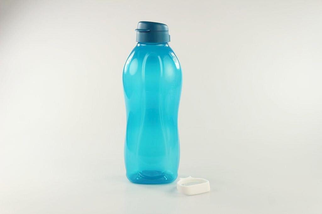 Blau 2 Neu Tupperware Eco Easy Trinkflasche Bürste Kostenloser Versand