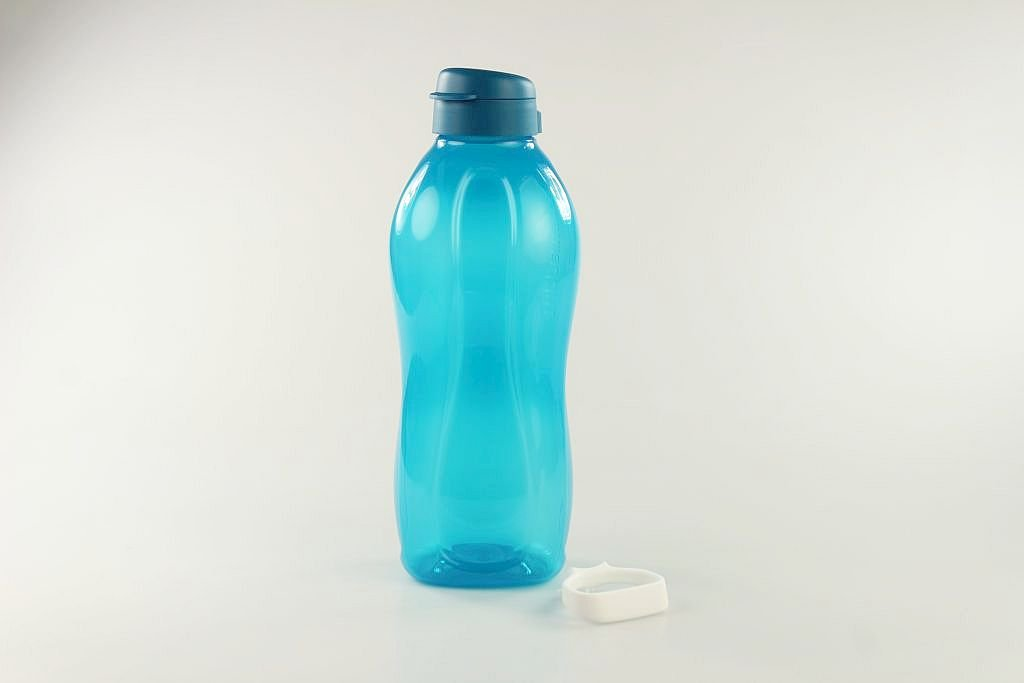 Soporte Botella clippverschluss P 17876 Tupperware to go Eco 2/ l azul