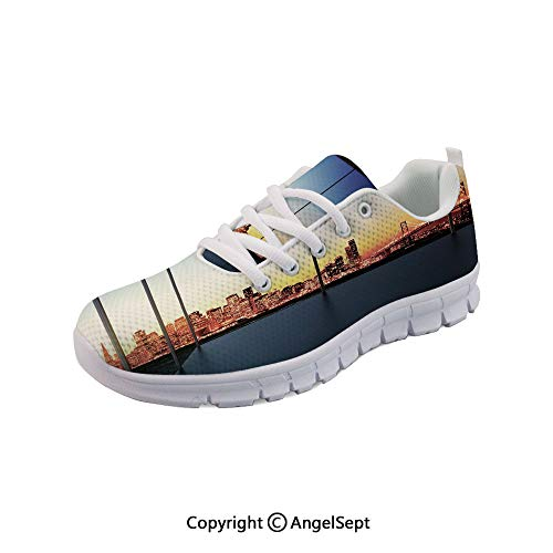 Athletic Running Shoes in New York City with Lightweight Sneakers -