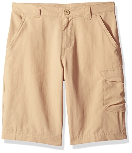 Columbia Youth Boys' Silver Ridge III Short, Breathable, UPF 30 Sun Protection, British Tan LG (14-16 Big Kids) ()