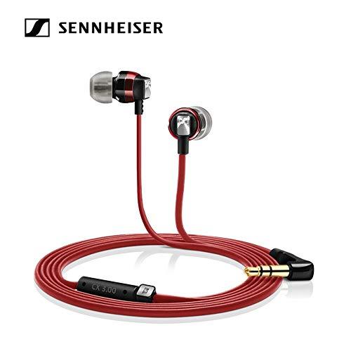 Sennheiser CX 3.00 Earbud Headphones Red CX 3.00 RED