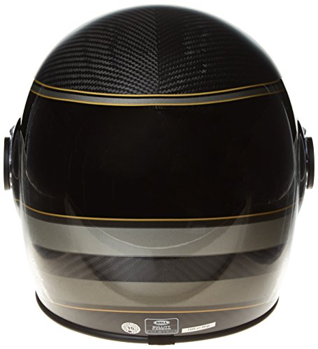 Amazon.es: Bell Bell Powersports 600003-025 - Casco de motocicleta, color Negro (Carbon Rsd Bagger), talla Large