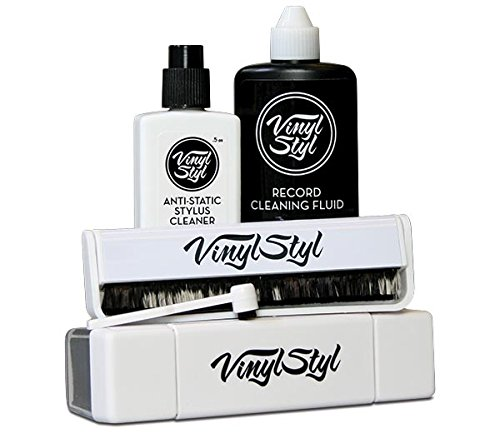 Vinyl Styl Ultimate Vinyl Record Cleaning Care Kit (Vinyl Styl Deep Groove Record Washer Review)