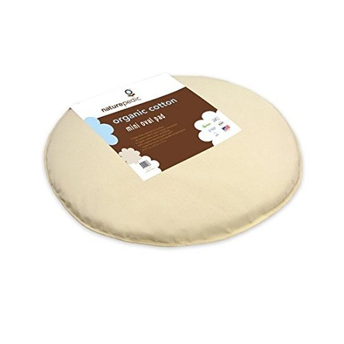 Naturepedic Organic Cotton Flat Waterproof Mini Pad PK42W (fits Stokke Sleepi Mini)