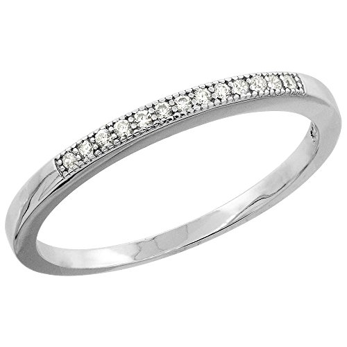 Sterling Silver Zirconia Eternity Wedding