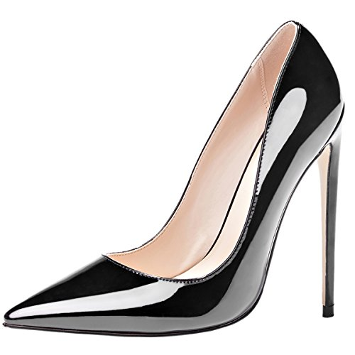 Mavirs High Heels, Women Pumps Pointed Toe Pumps High Heel Stilettos Slip-On Dress Shoes for Party