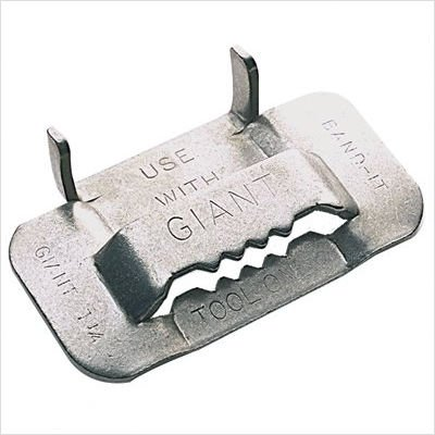 Giant Buckles Style: Wth:3/4'', Wt.:1.80lb (part# G44099) by Band-It