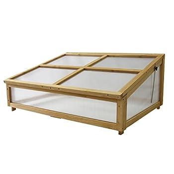 Image of Home and Kitchen VegTrug VTCFN 0560 USA 1m Cold Frame Natural