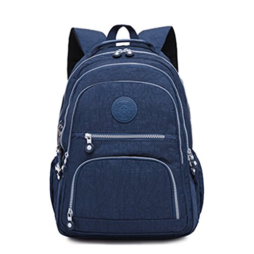 Travel Girls School Casual For Backpack Backpack Bags Teenage Female Women Laptop Bagpacks Blue Dark cawCBfnq