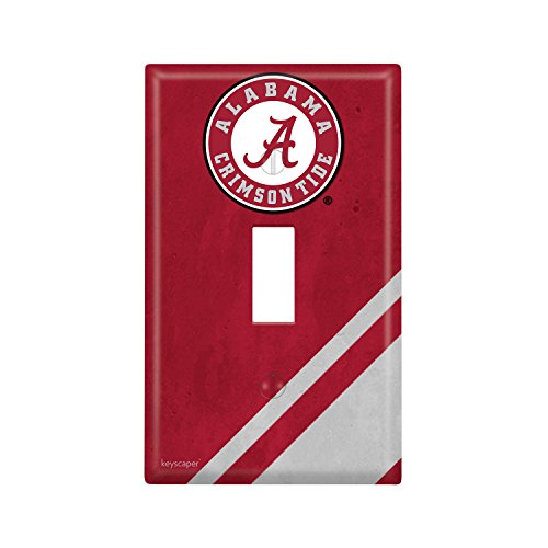 Alabama Light Switch Cover (Alabama Crimson Tide Single Toggle Light Switch Cover NCAA)