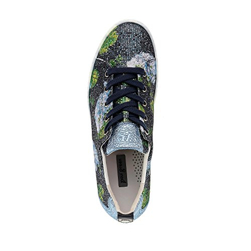 Paul Green 4449-059 Womens Lace-Up Shoe Multicoloured oCT8Pbl