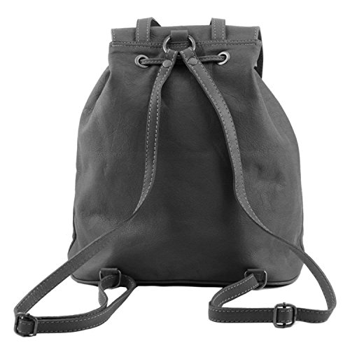 Tuscany Leather - Seoul - Sac à dos en cuir Petit modèle - Noir