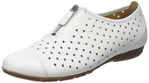 Flats Fashion White Gabor White Women's Ballet zRTwwtq
