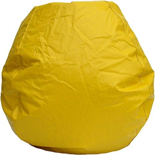 Yellow Vinyl Bean Bag - 5