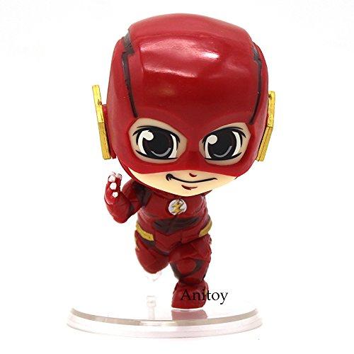 The Flash Bobble Head Action Figure Running Ver.PVC figure Toy 8.5cm
