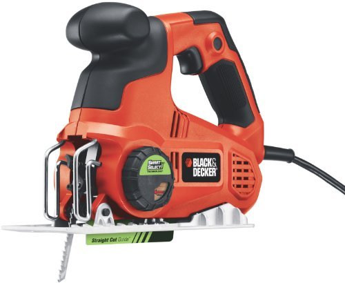 Black & Decker SCS600 6.0-Amp Accu-Trak Saw with Smart Select Technology